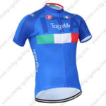 2016 Team ITALIA Tagetik Castelli Bicycle Jersey Maillot Blue