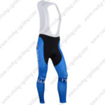 2016 Team ITALIA Tagetik Castelli Riding Long Bib Pants Tights Blue