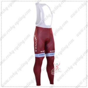2016 Team KATUSHA Cycling Long Bib Pants Tights