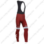 2016 Team KATUSHA Cycling Long Bib Pants Tights Red