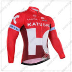2016 Team KATUSHA Cycling Long Jersey Maillot Red
