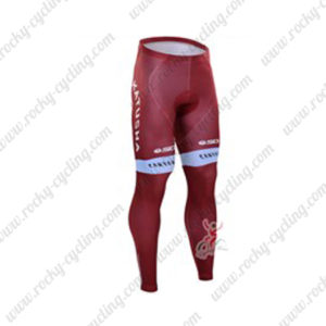 2016 Team KATUSHA Cycling Long Pants Tights