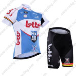 2016 Team LOTTO Fix All Cycling Kit White Blue