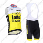 2016 Team LOTTO JUMBO Cycling Sleeveless Vest Bib Kit