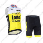 2016 Team LOTTO JUMBO Cycling Sleeveless Vest Kit