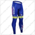 2016 Team Lampre MERIDA Bicycle Long Pants Tights Blue