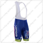 2016 Team Lampre MERIDA Cycling Bib Shorts Bottoms Blue