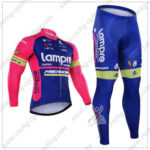 2016 Team Lampre MERIDA Cycling Long Suit Pink Blue