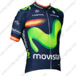 2016 Team Movistar Spain Riding Jersey Maillot Shirt Blue