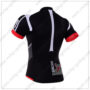 2016 Team NALINI Bicycle Jersey Maillot Shirt Black White