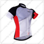 2016 Team NALINI Cycling Jersey Maillot Shirt Grey White Red