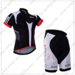 2016 Team NALINI Cycling Kit Black White
