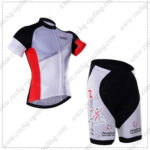2016 Team NALINI Cycling Kit Grey White Red