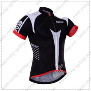 2016 Team NALINI Riding Jersey Maillot Shirt Black White