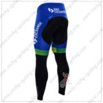 2016 Team ORICA GreenEDGE Bicycle Long Pants Tights Black Blue
