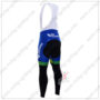 2016 Team ORICA GreenEDGE Biking Long Bib Pants Tights Black Blue