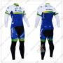 2016 Team ORICA GreenEDGE Cycle Long Suit White Blue