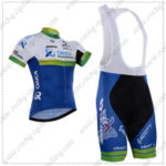 2016 Team ORICA GreenEDGE Cycling Bib Kit White Blue
