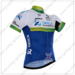 2016 Team ORICA GreenEDGE Cycling Jersey Maillot Shirt White Blue