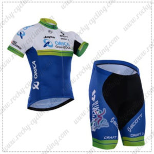 2016 Team ORICA GreenEDGE Cycling Kit Black Blue
