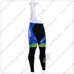 2016 Team ORICA GreenEDGE Cycling Long Bib Pants Tights Black Blue