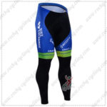 2016 Team ORICA GreenEDGE Cycling Long Pants Tights Black Blue
