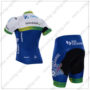 2016 Team ORICA GreenEDGE Riding Kit White Blue