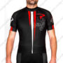 2016 Team PINARELLO Bike Jersey Maillot Shirt Black Red