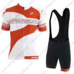 2016 Team PINARELLO Cycle Bib Kit Red White