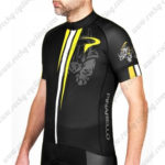 2016 Team PINARELLO Cycle Jersey Maillot Shirt Black Yellow