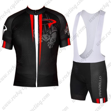 2016 Team PINARELLO Riding Clothing Cycle Jersey and Padded Bib ... 4a6236814