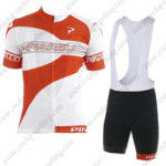 2016 Team PINARELLO Riding Bib Kit Red White