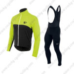 2016 Team Pearl Izumi Bicycle Long Bib Suit Black Yellow