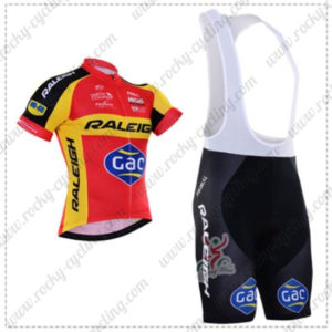 2016 Team RALEIGH Gac Biking Bib Kit