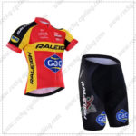 2016 Team RALEIGH Gac Biking Kit Red Yellow