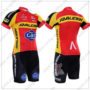 2016 Team RALEIGH Gac Cycling Kit Red Yellow