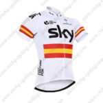 2016 Team SKY Rapha Spain Cycling Jersey Maillot Shirt White