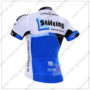 2016 Team Stolting Bicycle Jersey Maillot Shirt White Blue