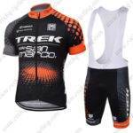 2016 Team TREK Cycling Bib Kit Black Orange