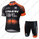 2016 Team TREK Cycling Kit Black Orange