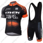 2016 Team TREK Racing Bib Kit Black Orange
