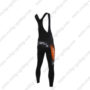 2016 Team TREK San Marco Bicycle Bib Pants Tights Black Orange