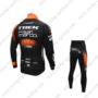 2016 Team TREK San Marco Biking Suit Black Orange
