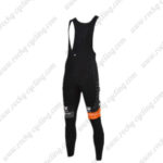 2016 Team TREK San Marco Cycling Bib Pants Tights Black Orange