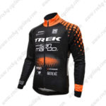 2016 Team TREK San Marco Cycling Jersey Maillot Black Orange