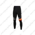 2016 Team TREK San Marco Cycling Pants Tights Black Orange
