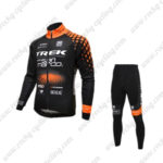 2016 Team TREK San Marco Cycling Suit Black Orange