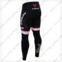 2016 Team TREK Segafredo Bicycle Long Pants Tights Black