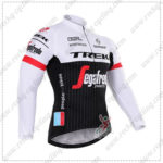 2016 Team TREK Segafredo Cycling Long Jersey Maillot White Black