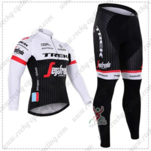 2016 Team TREK Segafredo Cycling Long Suit White Black